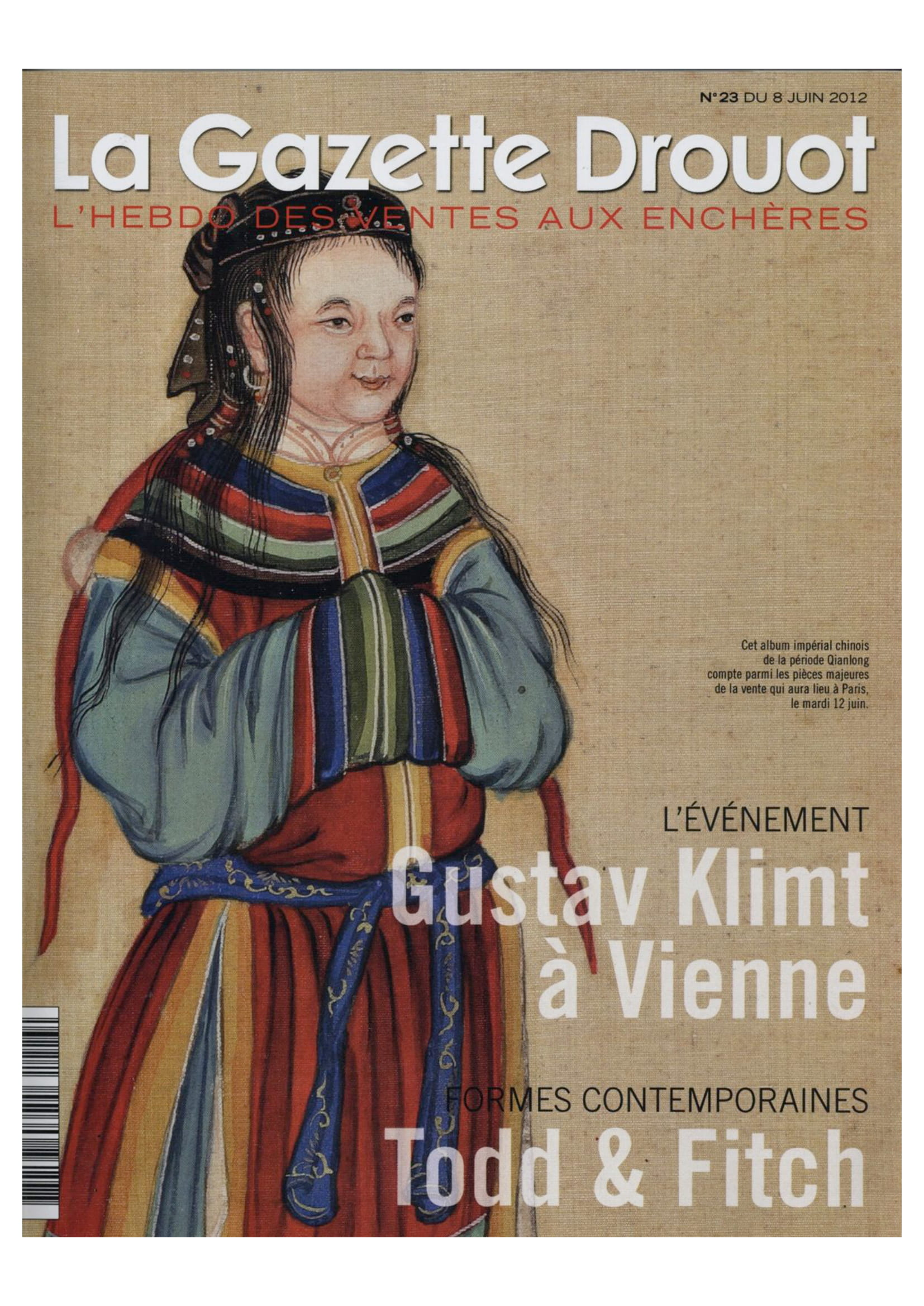 La Gazette Drouot — June 2012