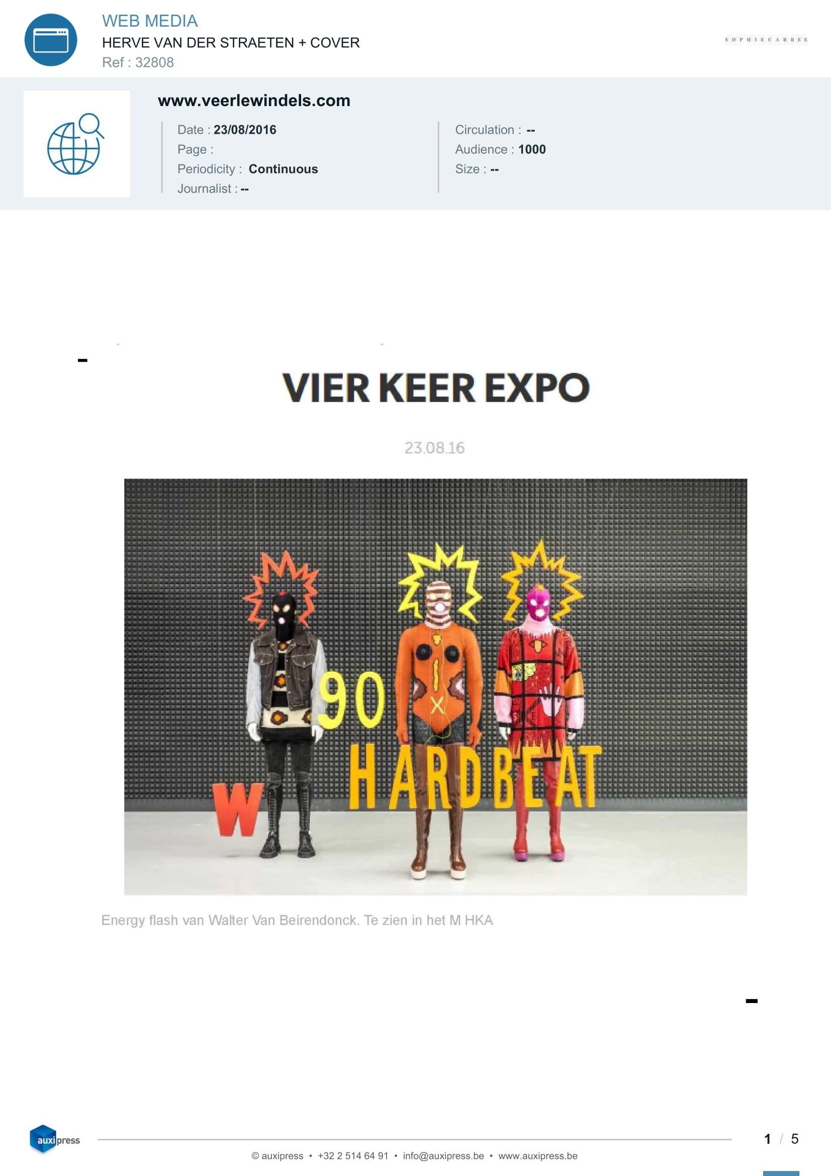 Veerlewindels.com — Aug. 2016