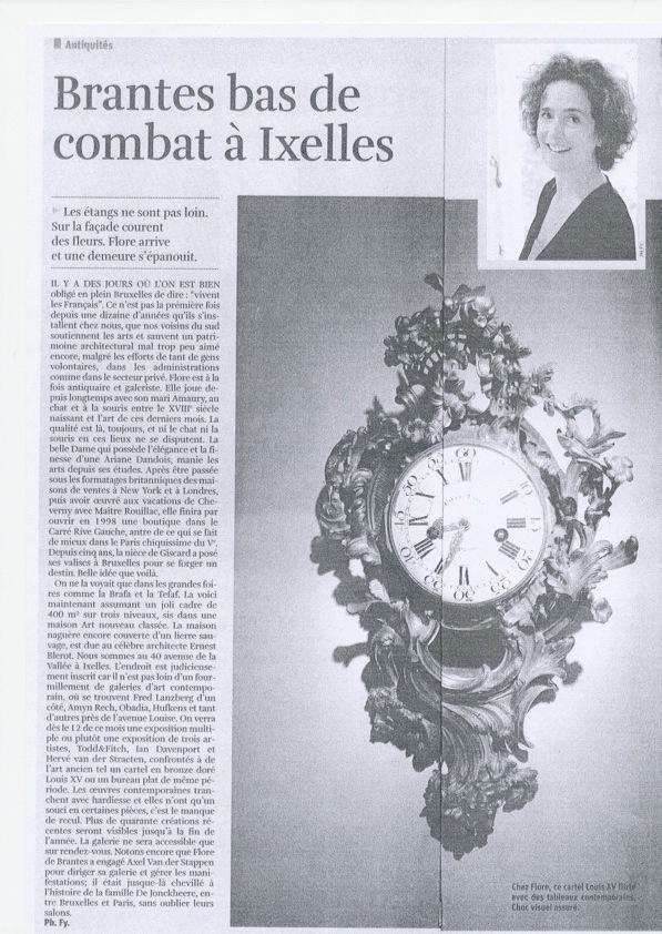 La Libre Belgique — Oct. 2011