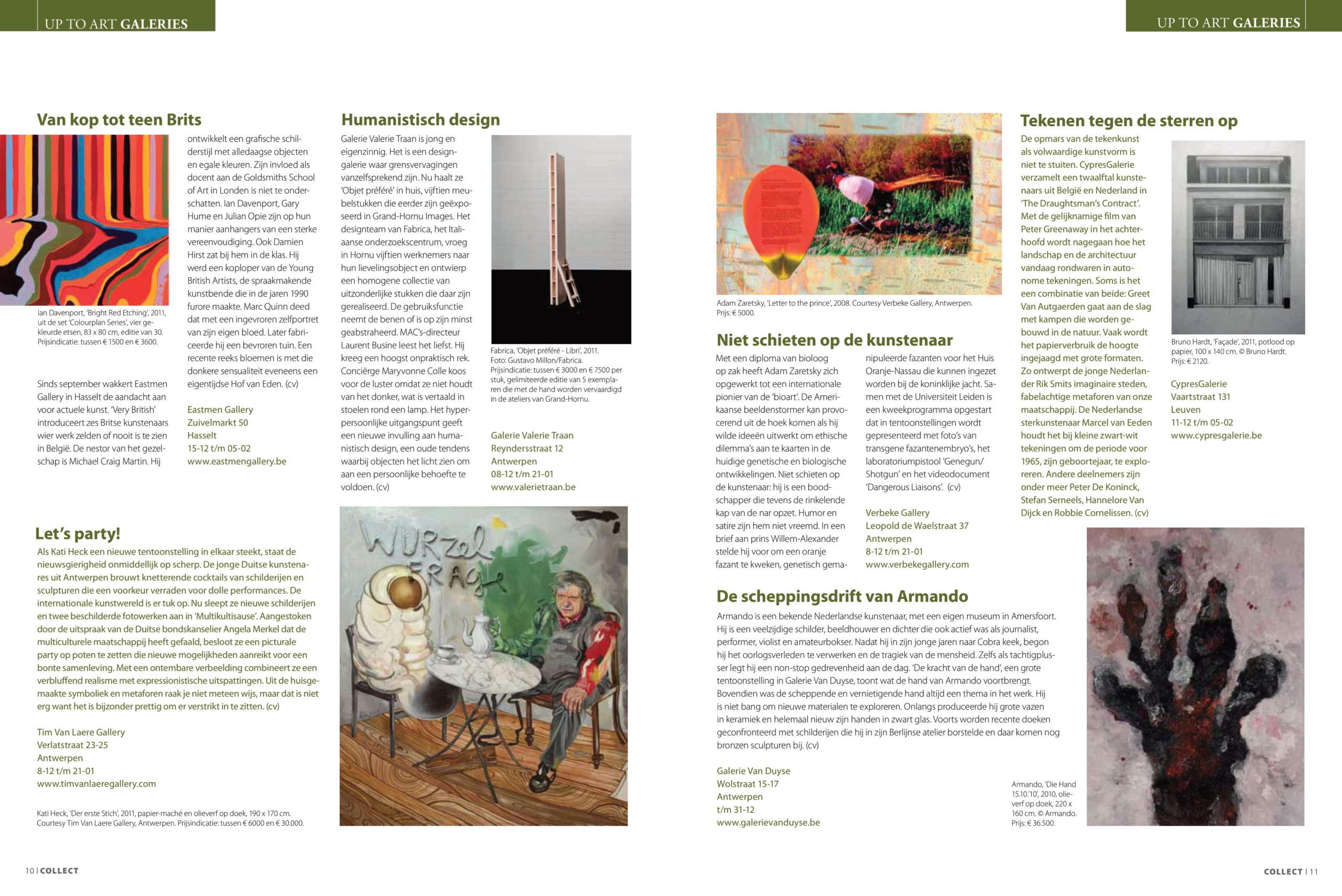 Collect Arts Antiques Auctions (fr) — Dec. 2011