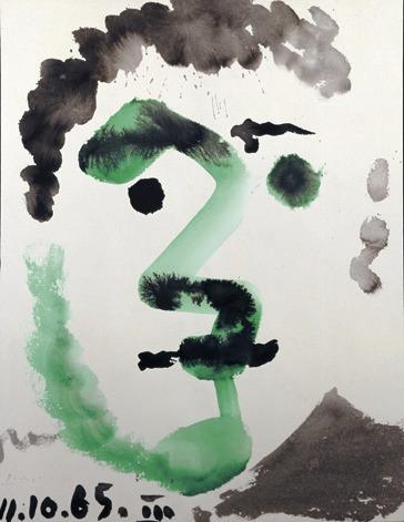 Pablo Picasso - Tête d'homme - 1965